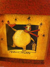Snowman with Cardinal and birdhouse  Paper Cutt... - $24.74