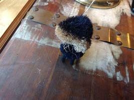Palm Fiber Small Skunk Brush Ornament  Eco Fiber Sustainable Made in Philippines image 3