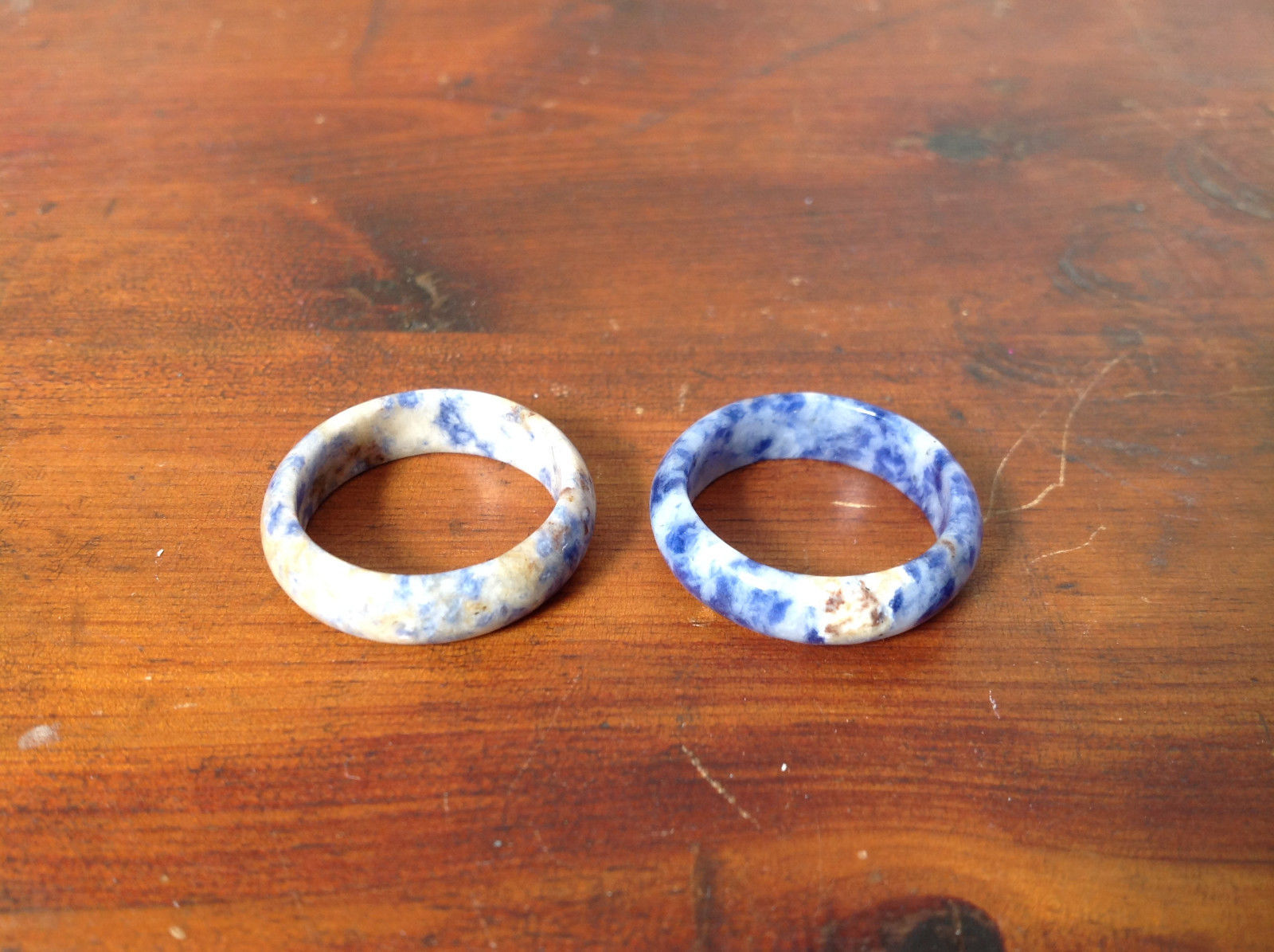 Sodalite Natural Stone Ring Sizes 8.75 and 9.75 choice of size