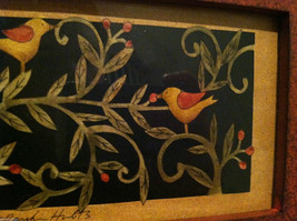 Paper Cutting Vines and Birds Large Trinket Box image 5