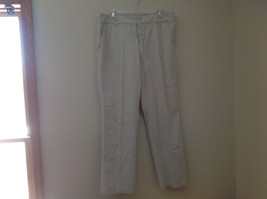 Sonoma Khaki 4 Pocket Work Pants Zipper Clasp Button Closure Size 14 Regular