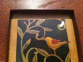 Paper Cutting Vines and Bird Facing Left Small Trinket Box image 3