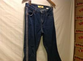 Paris Blues Womens Dark Cotton Jeans Pants, Size 11 image 3