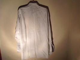 Paul Stuart Light Blue and Yellow Stripes Long Sleeve Button Up Shirt Size 16.5 image 7
