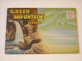 Souvenir Folder Illustrated Pictures 1941 Vermont