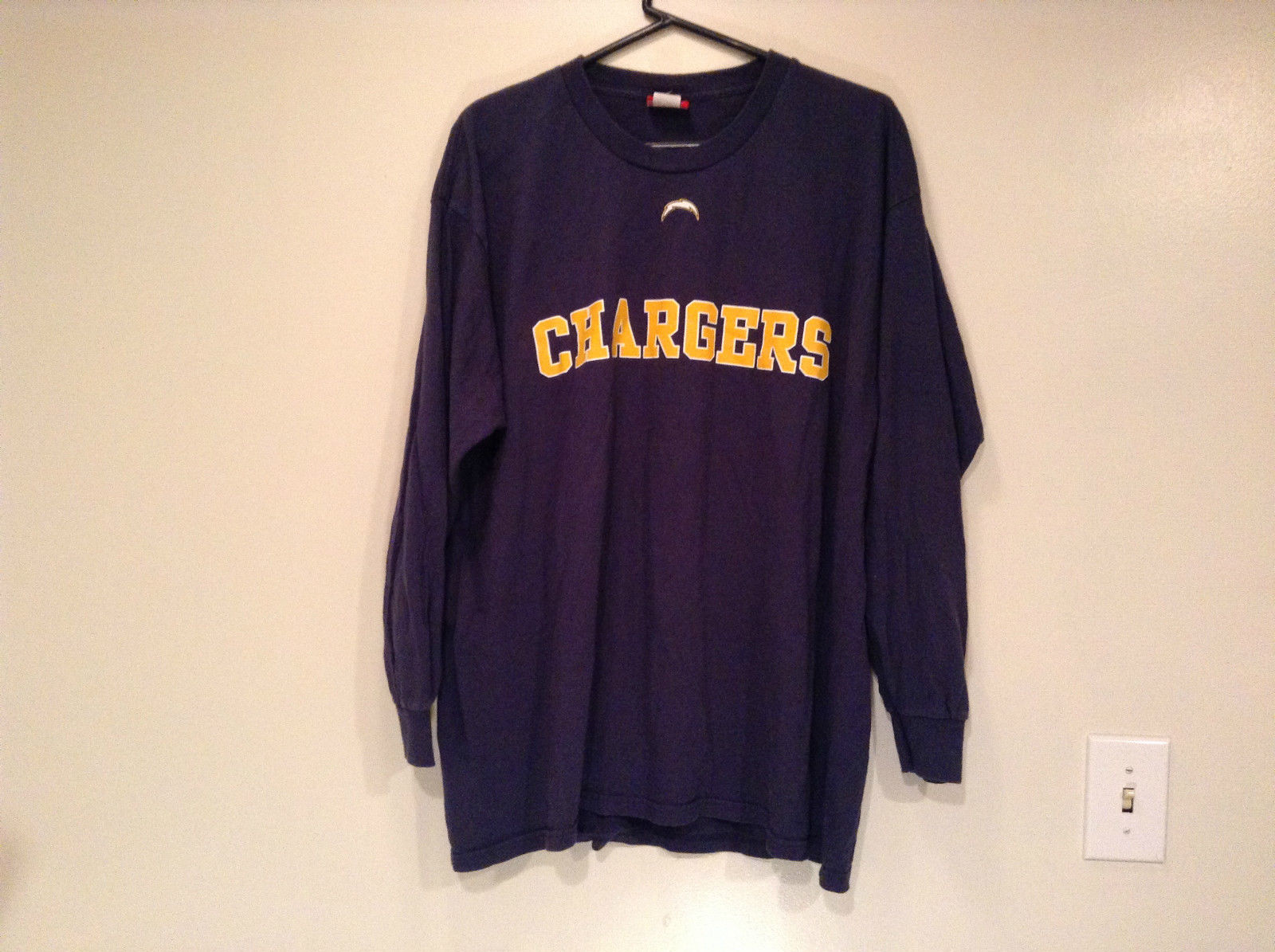 Sport Jersey NFL CHARGERS San Diego Dark Blue Size X Large Long Sleeves