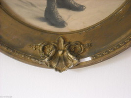 Antique Gold Painted Frame with Boy's Portrait image 5