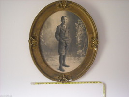Antique Gold Painted Frame with Boy's Portrait image 9
