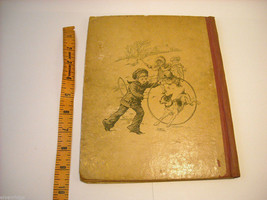 Antique Hardcover Children's Book Five Little Peppers 1881 by Margaret Sydney image 2