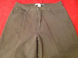 St Johns bay dark brown jeans women's size 14