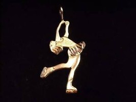 Sterling Silver Figure Skater Charm or Pendant