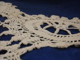 Antique Handmade Lace Bedspread image 2