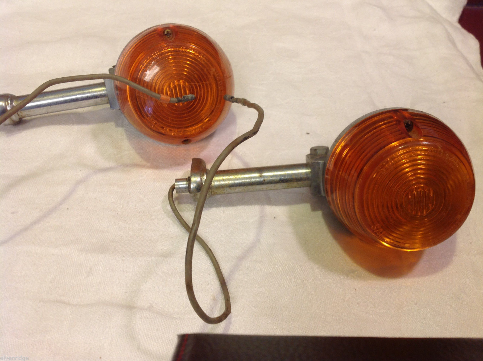 Stanley made Japan SAE D67 S0345 two lights unidentified vehicle repurposing