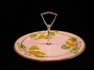 Stangl Pottery dessert h'ordeurve serving tray