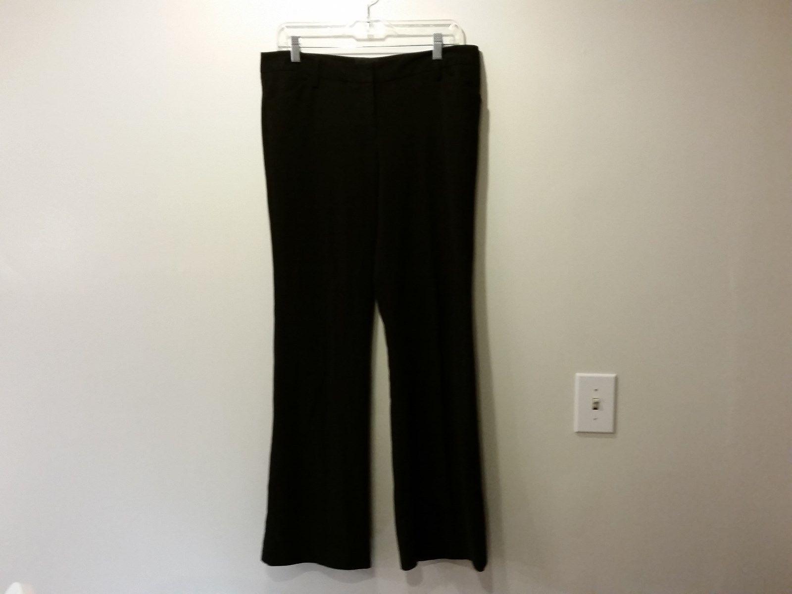 Star City Logan Size 9 Black Dress Pants Zipper and Slide Closure