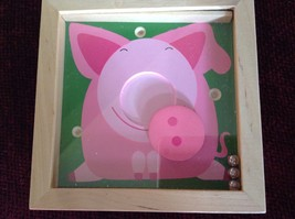 Pig Tip and Tilter Ball Puzzle Collectably Cute Animal Games House of Marbles image 3