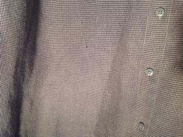 Pierre Cardin Gray Black Green Small Design Pattern Long Sleeve Shirt Size XL image 4