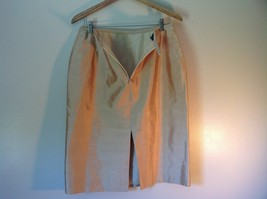 Pilar Rossi Size 10 Light Brown Skirt and Blazer Suit 3 Button Closure on Jacket image 8