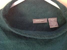 Pierre Cardin Options Teal Long Sleeve Sweater Turtleneck Size Medium image 2