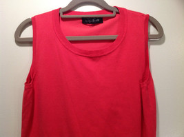 Pink August Silk Stretchy Tank Top Excellent Condition Information Tag Removed image 2