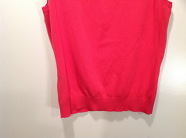 Pink August Silk Stretchy Tank Top Excellent Condition Information Tag Removed image 6