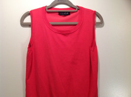 Pink August Silk Stretchy Tank Top Excellent Condition Information Tag Removed image 4