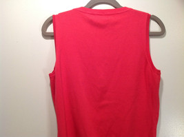 Pink August Silk Stretchy Tank Top Excellent Condition Information Tag Removed image 5