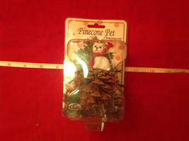 Pine Cone Pet Ornament Westie Pine Cone Pet New in Original Package image 6