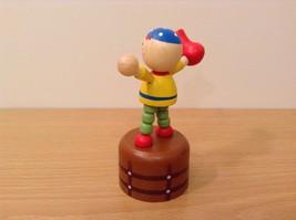 Pirate Wooden Wobbly Push Up traditional style pirate with jug image 3