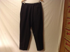 Play Womans Black Pants, Size 16 image 2