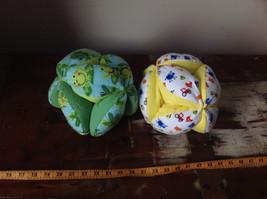 Plush Handmade Baby Ball Custom Colors Made in USA 12 Inches Diameter image 2