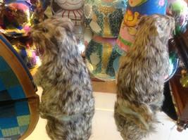 Prairie Dog Standing Up Animal Figurine - recycled rabbit fur image 2