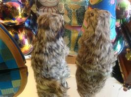 Prairie Dog Standing Up Animal Figurine - recycled rabbit fur image 3