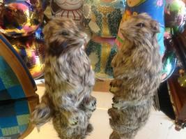 Prairie Dog Standing Up Animal Figurine - recycled rabbit fur image 4