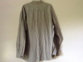 Plaid Long Sleeve Casual Button Down Shirt with Collar by Eddie Bauer Size XL image 6