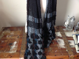 Stretchy Green and Brown Bohemian Scarf - $39.99