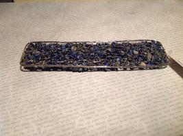 Pretty Blue Cuff Lapis Lazuli Bracelet by Elly Preston you shape to your wrist image 6
