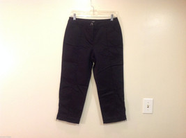 Style & Co. Ladies Stretch Casual Cropped Capri Black Pants, Size 6