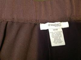 Purple Colored Dressbarn Womens Pants Size 18W image 3