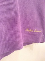 Purple Label Ralph Lauren Short Sleeve Polo Shirt Made in Italy Size Small image 3