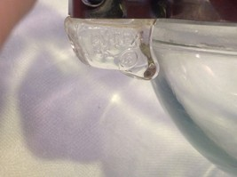 Pyrex vintage small clear glass coffee or teapot for display image 5