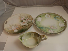 R S Germany 2 Plates and Gravy Bowl/Server image 2