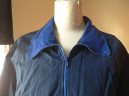 Radical Unisex Dark Blue Long Sleeve Windbreaker Jacket Zip Up Closure Size L image 2
