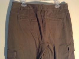 Rafaella Petite Brown Capris 6 Pockets Size 12P image 6