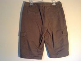Rafaella Petite Brown Capris 6 Pockets Size 12P image 5