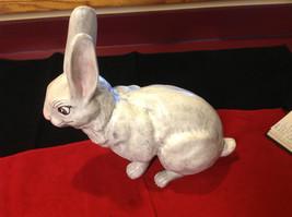 Rabbit white 16 inches Ceramic statue image 4