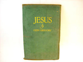 Suede Leather Bound Play Jesus Tragedy of Man 1st ed