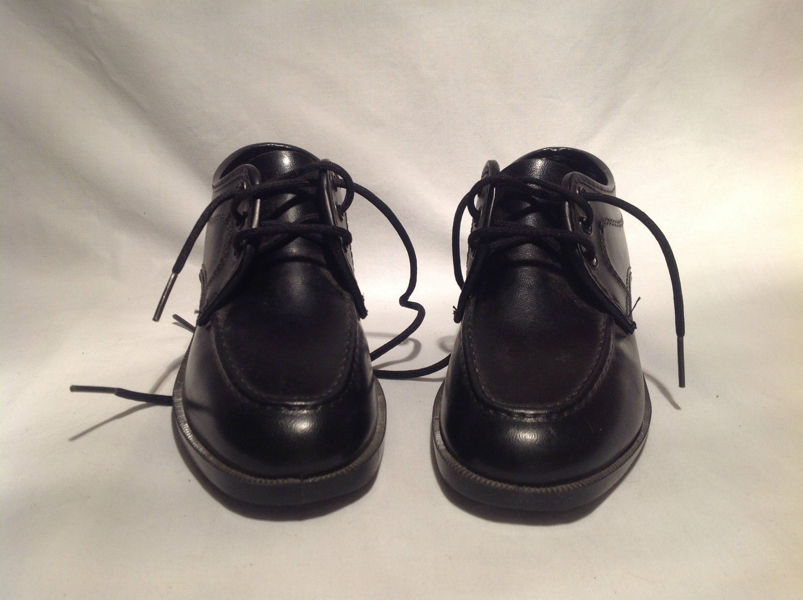 Sunbacker Black Tied Dress Shoes Good Condition with Light Wear Size 12.5M