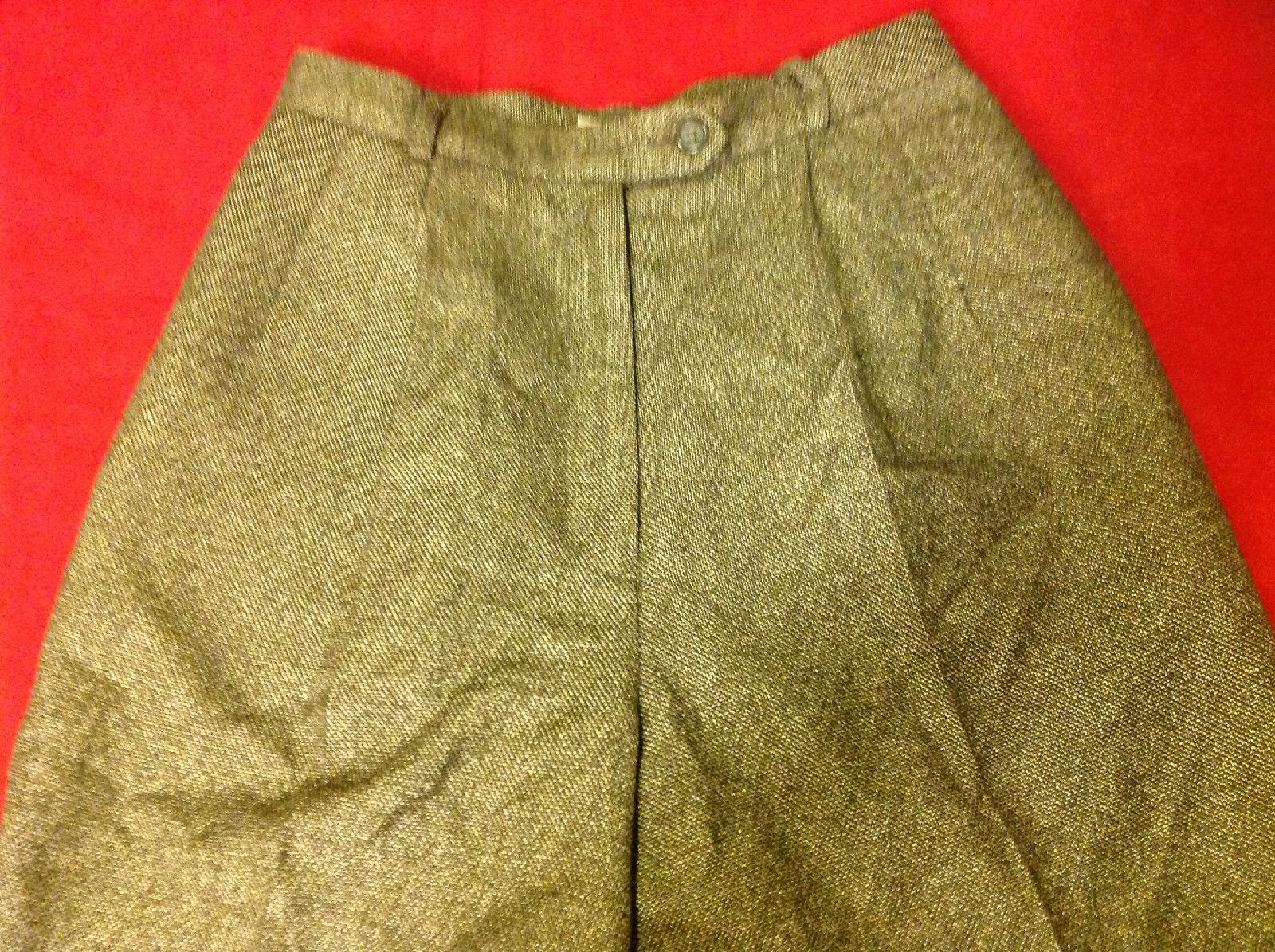 Talbots Ladies Pants Brown Color Size 2P