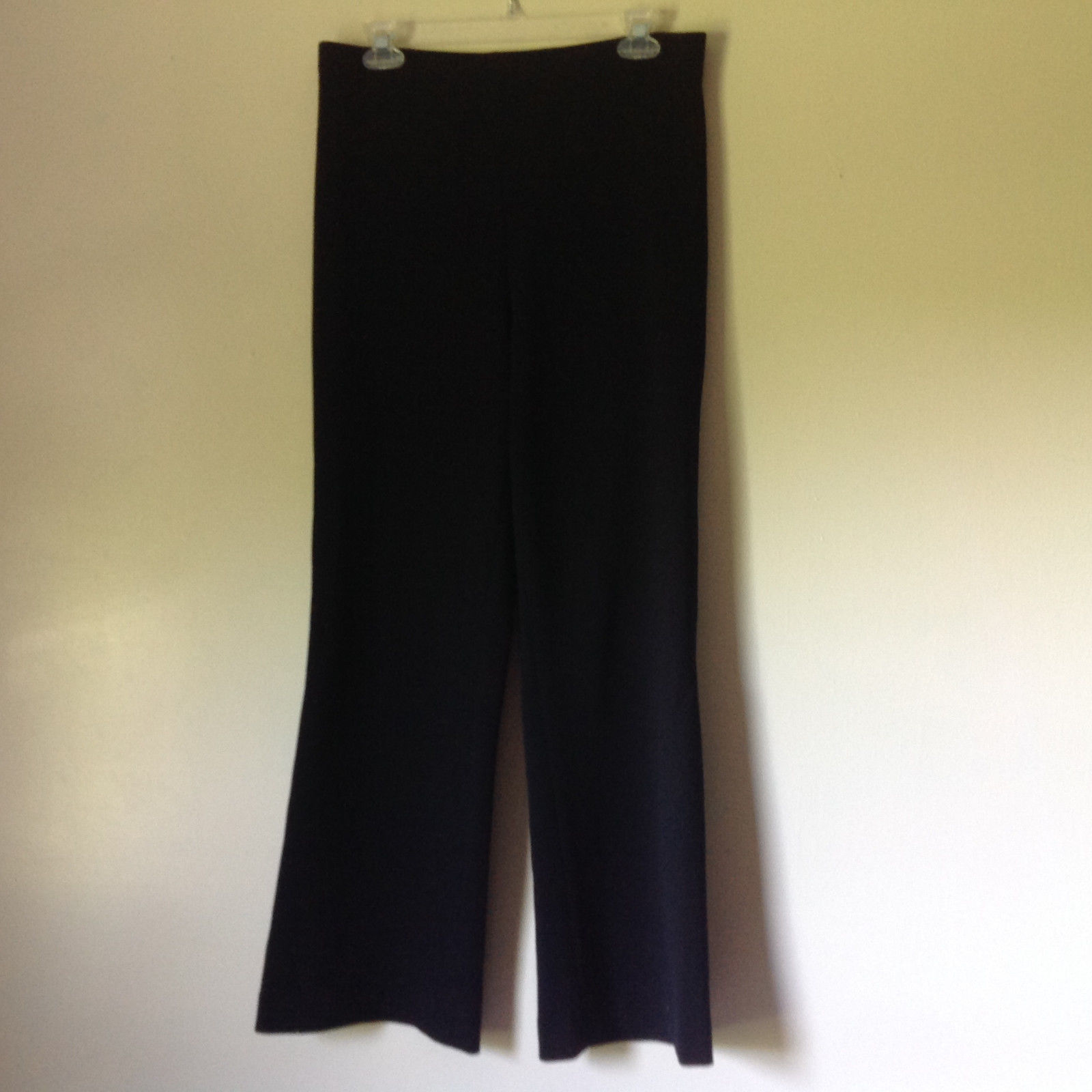 Susan Lazar Black Stretchy Comfortable Dress Pants Measurements Below